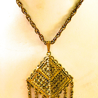 Hollycraft Egyptian Necklace
