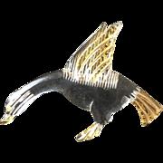 Lucite Goose Pin