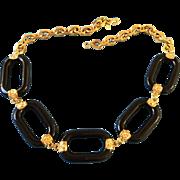 Kenneth Lane Black Necklace