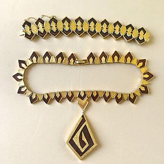 Jomaz Necklace-Bracelet Demi-Parure
