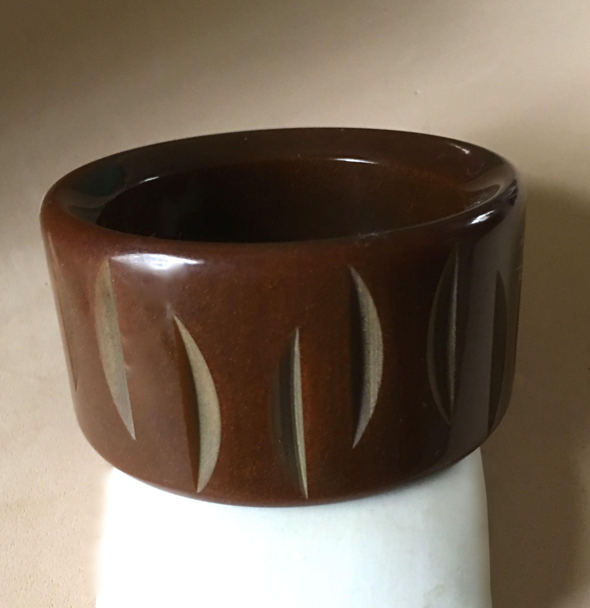 Extra Wide Bakelite Bangle
