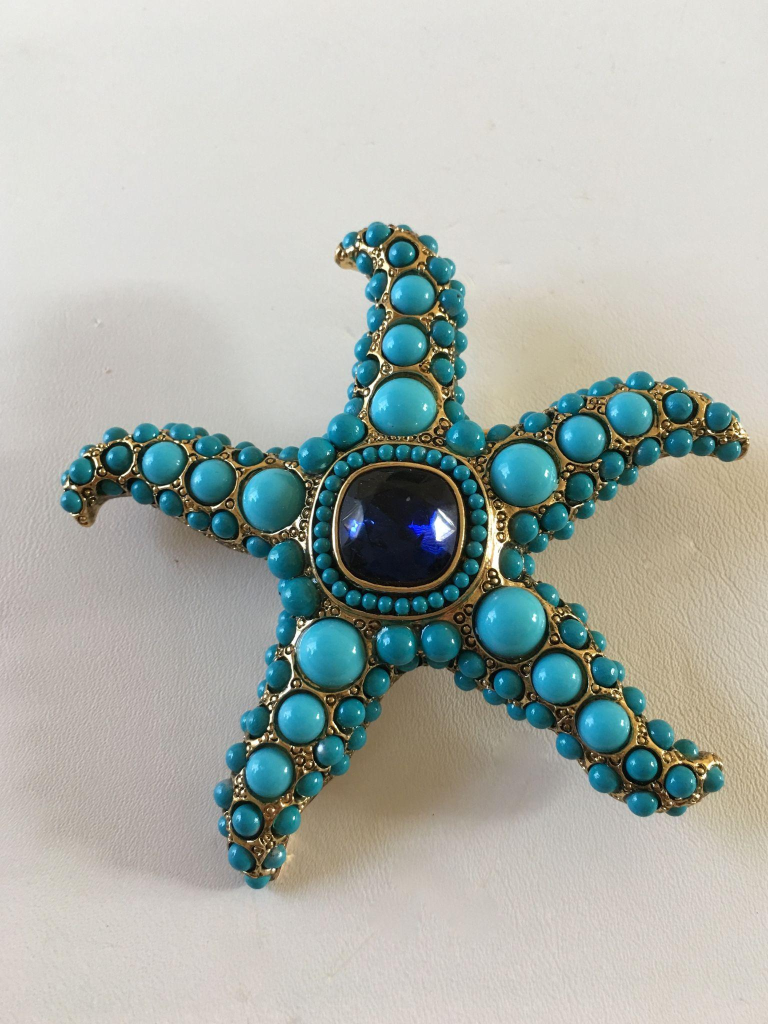 Kenneth Lane Starfish Pin