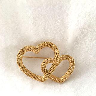 Christian Dior Heart Pin