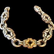 Vintage Bayanihan Sterling with 18K  Bracelet