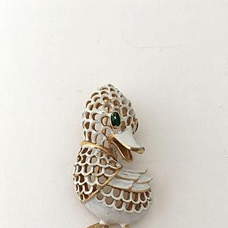 Trifari Duckling Pin
