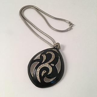 1970's Eisenberg Enamel Necklace