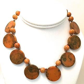 Aart Deco Bakelite Necklace