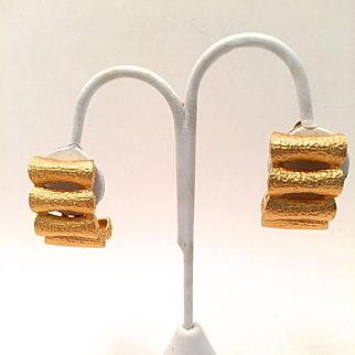 Fendi Clip Earrings