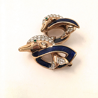 Dolphins Pin by Attwood & Sawyer