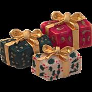 Holiday Gift Box Pin