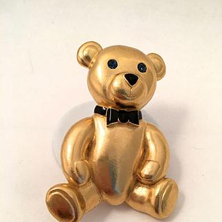 Carolee  Golden Colored Bear