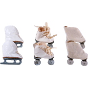 Roller Skates and Ice Skates for Ginny, Muffie, Alexander-Kins and Others