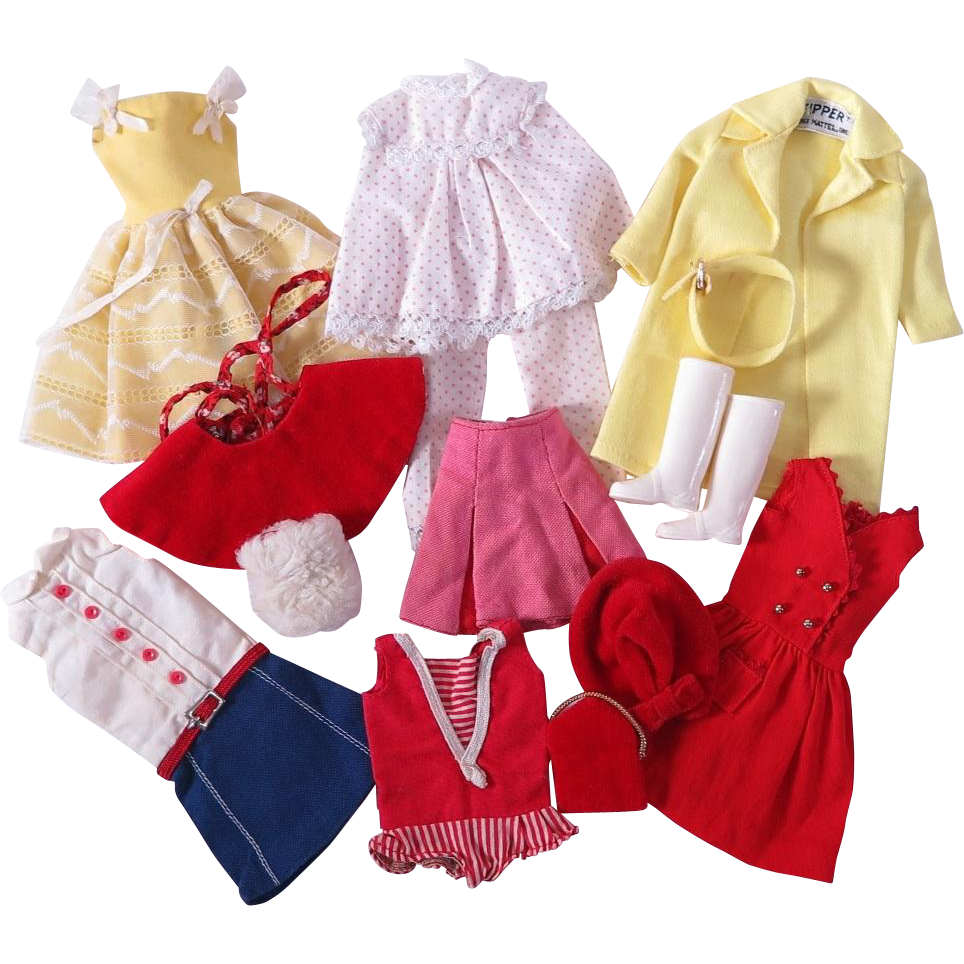 vintage skipper clothing by mattel sold on ruby