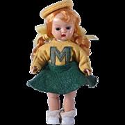 Bent Knee Walker Muffie Doll by Nancy Ann