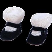 Madame Alexander Wendy Alexander-Kins Fuzzy Bottom Shoes