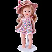 Unusual Light Blue Eyed Muffie Doll by Nancy Ann