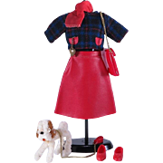 Ideal Tammy Walking Her Pet Outfit