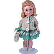 Green Eye Freckled Bent Knee Walker Ginny doll by Vogue