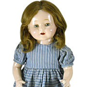1928 Horsman Rosebud 20 Inch Composition Doll