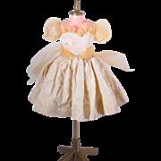 18 Inch Miss Revlon Gold Queen of Diamonds Dress by Ideal