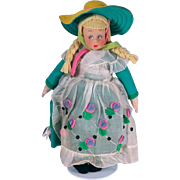 Vintage Tagged Italian Lenci Mascot Doll