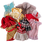 Vintage Clothing for Smaller Dolls