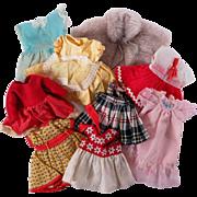 Vintage Clothing for Smaller Dolls