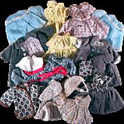 Vintage Handmade Clothing for Smaller Dolls