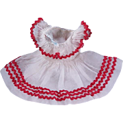 "Alexander-kins Dress #447 ""Wendy's Dress for Tea Party at Grandma's"" 1955"