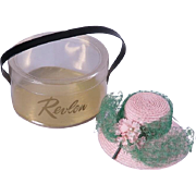 Little Miss Revlon Hat in Carrying Case by Ideal