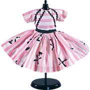 Little Miss Revlon #9056 Windmill Print by Ideal