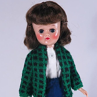 Brunette Jill 10 1/2 Inch Fashion Doll by Vogue