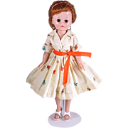 Brown Eye Jill in Hard To Find Butterfly Shirtwaist Dress #3234