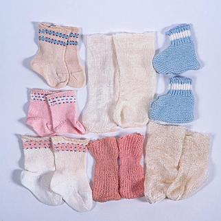Vintage Dolls Socks and Booties