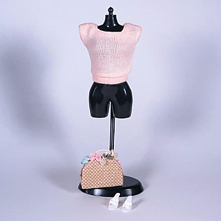 Vintage Barbie Pak Square Neck Sweater by Mattel