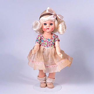 Platinum 8 inch Walker Pam or Virga Doll from the 1950's