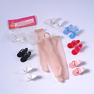 High Heel Shoes and Stockings for Little Miss Revlon and Others