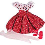 Vintage Dress and Accessories for Little Miss Revlon and Others