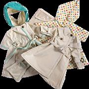 Little Miss Revlon Variation Rain Coat Collection by Ideal