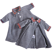 Little Miss Revlon Variations Checked Coat #9240 by Ideal