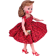 Vintage Factory Made Dress with Accessories for Little Miss Revlon and Others