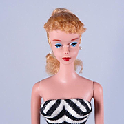 Vintage #4 Ponytail Barbie by Mattel