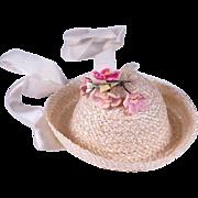 VHTF Muffie Hat Storybook Style #801 Little Betty Blue by Nancy Ann 1953