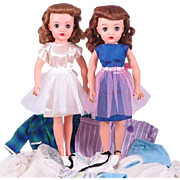 """18"""" Miss Revlon Dolls by Ideal with Wardrobe"""