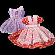 Little Miss Revlon #9127 Pinafore Dresses - Two Versions