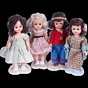 1950's 8 Inch Hard Plastic Dolls