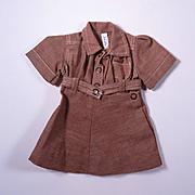Vintage Terri Lee Brownie Scout Dress