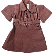 Vintage Terri Lee Brownie Scout Dress