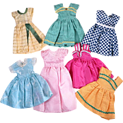 1950's Factory Made Outfits, Like New, for Little Miss Revlon and Others