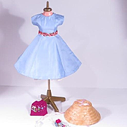 Vintage Handmade Dress with Accessories for Cissy, Miss Revlon and Others